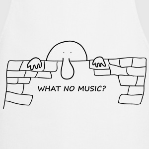 What no music? - Cooking Apron