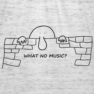 What no music? - Women's Tank Top by Bella