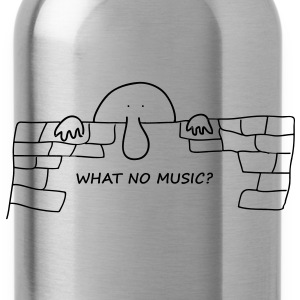 What no music? - Water Bottle