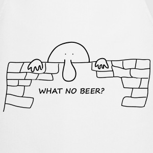 What no beer? - Cooking Apron