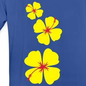 single three hibiscus tropical flowers Hoodies & Sweatshirts - Men's Breathable T-Shirt