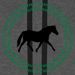 Connemara Pony -this design lets you change the colours Tassen - Unisex baseball hoodie