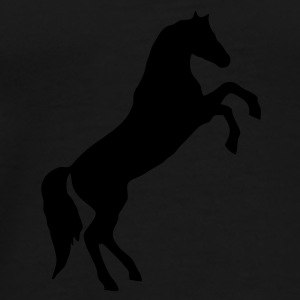 Wild Horse - this design lets you change the colour Bags  - Men's Premium T-Shirt