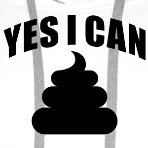 Yes i can do T-Shirts - Bluza męska Premium z kapturem