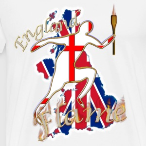 England Saint George UK running Sweatshirts - Men's Premium T-Shirt