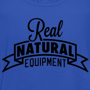 Real Natural Equipment T-Shirts - Women's Tank Top by Bella