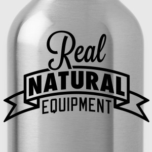 Real Natural Equipment T-Shirts - Water Bottle
