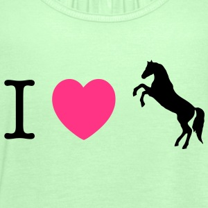 I love Ponies wild horse - this design lets you change all colours Kids' Tops - Women's Tank Top by Bella