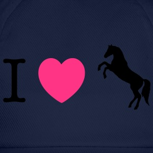 I love Ponies wild horse - this design lets you change all colours Gensere - Baseballcap