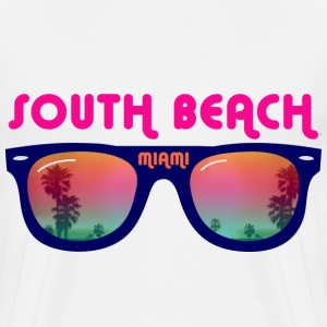 South Beach Miami Vesker - Premium T-skjorte for menn