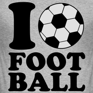 I Love Football Sweaters - slim fit T-shirt