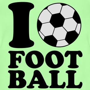 I Love Football Barntröjor - Baby-T-shirt