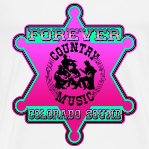 forever country music colorado sound Sweat-shirts - T-shirt Premium Homme