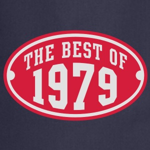 THE BEST OF 1979 2C Birthday Anniversaire Geburtstag T-Shirt - Tablier de cuisine