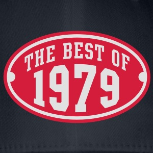 THE BEST OF 1979 2C Birthday Anniversaire Geburtstag T-Shirt - Czapka z daszkiem flexfit