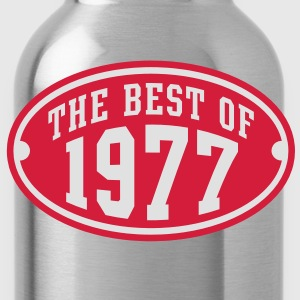 THE BEST OF 1977 2C Birthday Anniversaire Geburtstag T-Shirt - Water Bottle