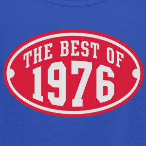 THE BEST OF 1976 2C Birthday Anniversaire Geburtstag T-Shirt - Tank top damski Bella