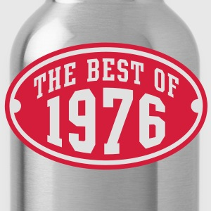 THE BEST OF 1976 2C Birthday Anniversaire Geburtstag T-Shirt - Water Bottle