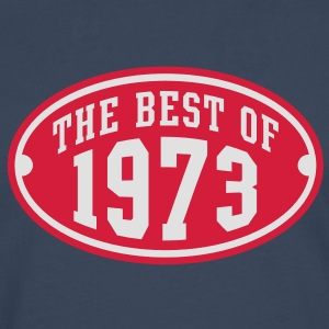 THE BEST OF 1973 2C Birthday Anniversaire Geburtstag T-Shirt - T-shirt manches longues Premium Homme
