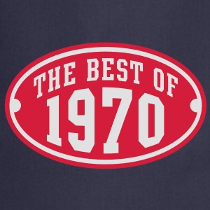 THE BEST OF 1970 2C Birthday Anniversaire Geburtstag T-Shirt - Fartuch kuchenny
