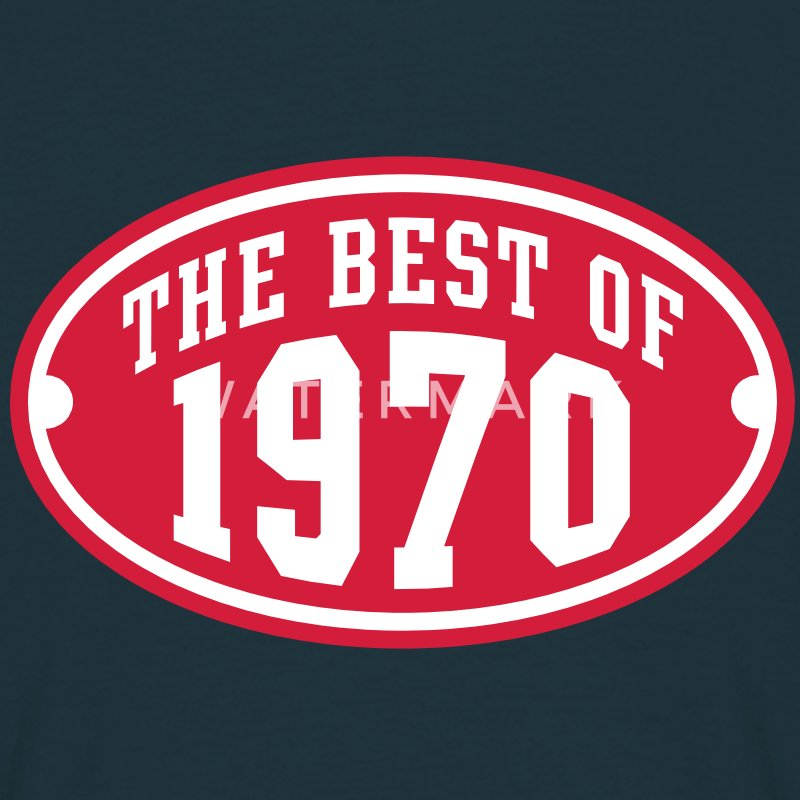 THE BEST OF 1970 2C Birthday Anniversaire Geburtstag T-Shirt - Mannen T-shirt