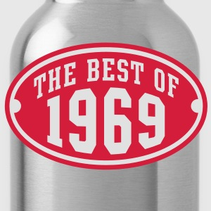 THE BEST OF 1969 2C Birthday Anniversaire Geburtstag T-Shirt RN - Borraccia