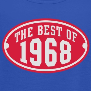 THE BEST OF 1968 2C Birthday Anniversaire Geburtstag T-Shirt RN - Top da donna della marca Bella