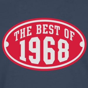 THE BEST OF 1968 2C Birthday Anniversaire Geburtstag T-Shirt RN - Mannen Premium shirt met lange mouwen