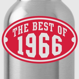 THE BEST OF 1966 2C Birthday Anniversaire Geburtstag T-Shirt RN - Drinkfles