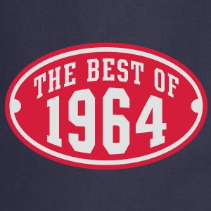 THE BEST OF 1964 2C Birthday Anniversaire Geburtstag T-Shirt RN - Fartuch kuchenny