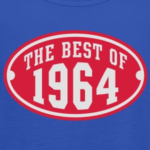 THE BEST OF 1964 2C Birthday Anniversaire Geburtstag T-Shirt RN - Top da donna della marca Bella