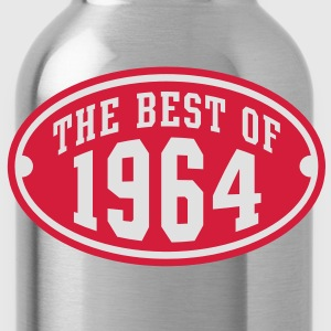 THE BEST OF 1964 2C Birthday Anniversaire Geburtstag T-Shirt RN - Water Bottle