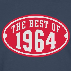 THE BEST OF 1964 2C Birthday Anniversaire Geburtstag T-Shirt RN - Men's Premium Longsleeve Shirt
