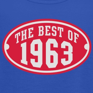 THE BEST OF 1963 2C Birthday Anniversaire Geburtstag T-Shirt RN - Tank top damski Bella