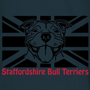 staffords smileflag2 Sweaters - Mannen T-shirt