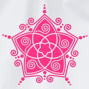 FLOWER OF LOVE - Venus Flower, vector, symbol of love, balance and beauty / T-shirts - Gymnastikpåse