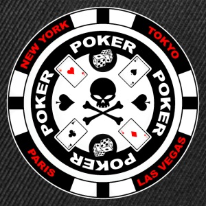 poker team design 3 Tee shirts - Casquette snapback