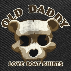 Old Daddy Skull Tee shirts - Casquette snapback