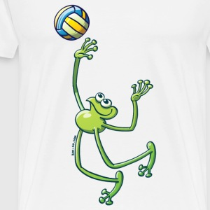 Olympic Volleyball Frog Bags  - Men's Premium T-Shirt