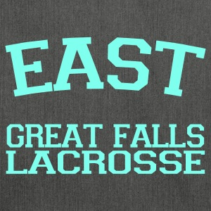 East Great Falls Lacrosse - Schultertasche aus Recycling-Material