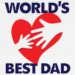 Worlds Best Dad 7 (dd)++ T-shirts - Baseballkasket