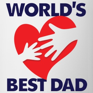 Worlds Best Dad 7 (dd)++ T-shirts - Kop/krus