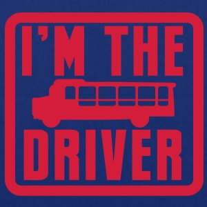 I'm the BUS DRIVER with a bus in a square Shirts - Tote Bag