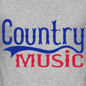 country music Sweat-shirts - Tee shirt près du corps Homme