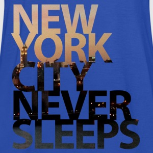 New York City Never Sleeps T-Shirts - Frauen Tank Top von Bella