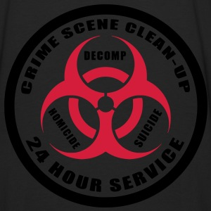 Crime Scene Clean-Up Hoodies & Sweatshirts - Men's Premium Longsleeve Shirt