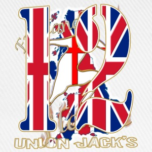 uk union jacks number 12 Polo Shirts - Baseball Cap