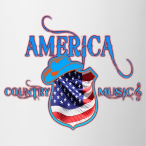 america country music Tee shirts manches longues - Tasse