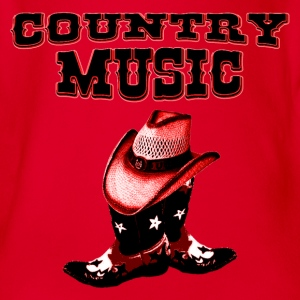 country music Tee shirts Enfants - Body bébé bio manches courtes