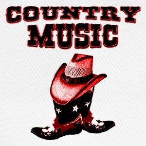 country music Skjorter - Baseballcap